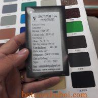 Bột sơn tĩnh điện đen cát mới