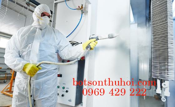 bột sơn tĩnh điện có độc hại không?